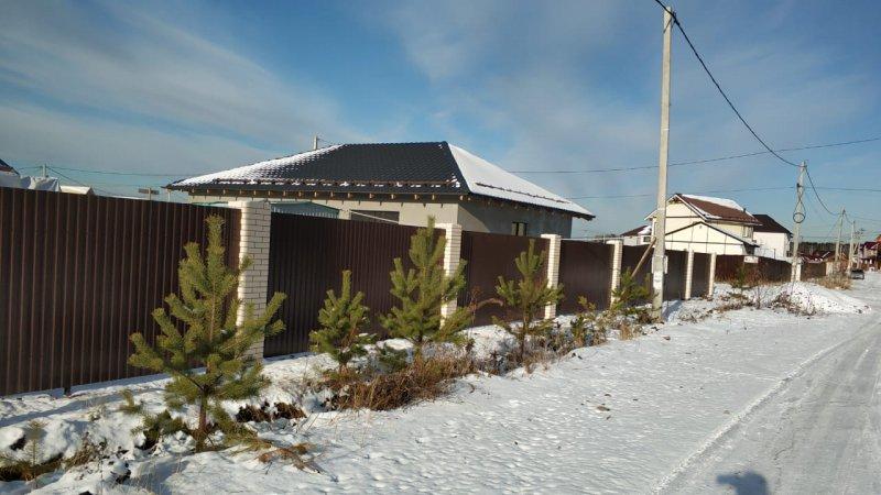 Дом с Вальмовой кровлей 120м2 из газоблока